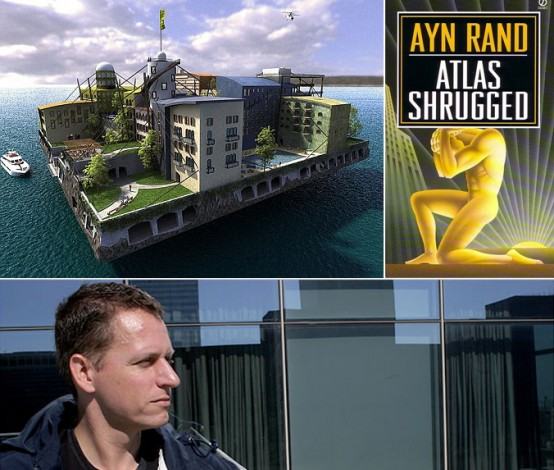 Peter Thiel and his Libertarian floating islands