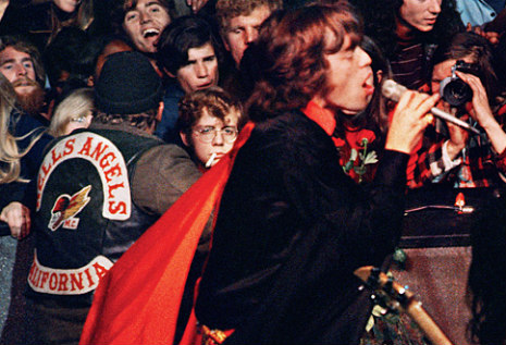 The Hells Angels and The Altamont Concert