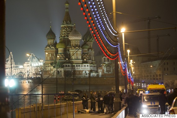Nemtsov shot near Kremlin