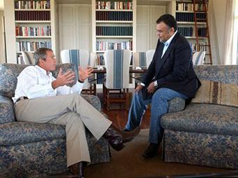 Bush and Prince Bandar