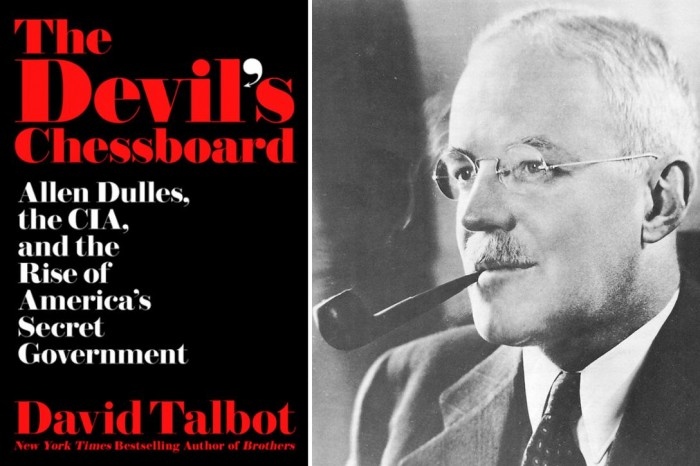 "Review: ""The Devil's Chessboard"" By David Talbot"